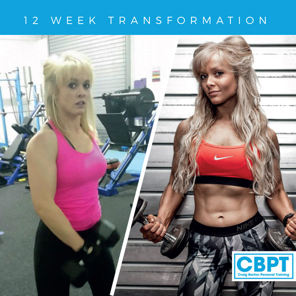 Abi Harvey Body Transformation at frontier gym
