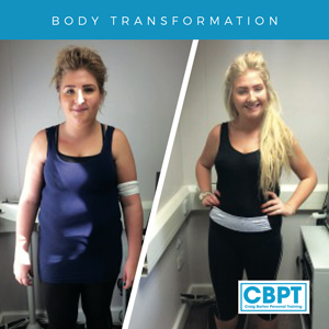 Harriet Jackson before and after training with Craig Barton