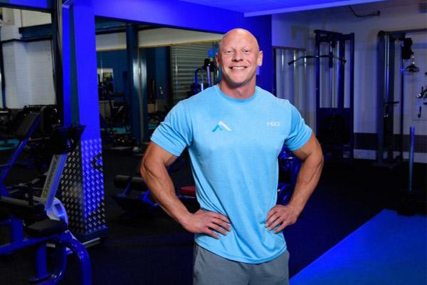 craig barton standing in frontier gym