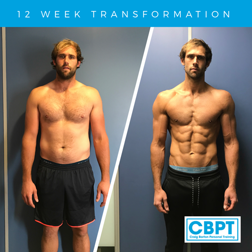 amazing 12 week transformation josh