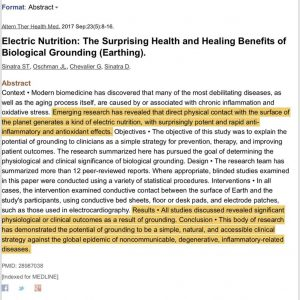 craig barton pt grounding research and benefits